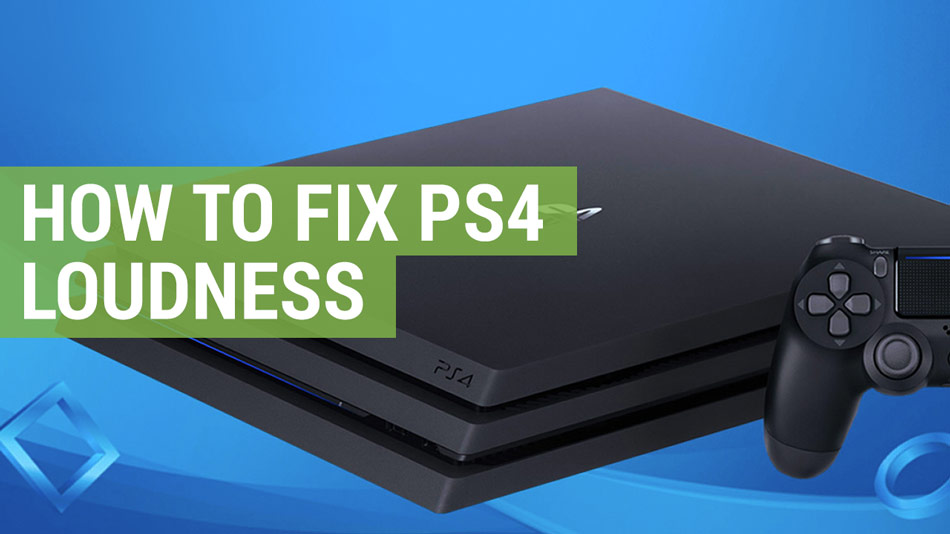 how to fix PS4 loudness
