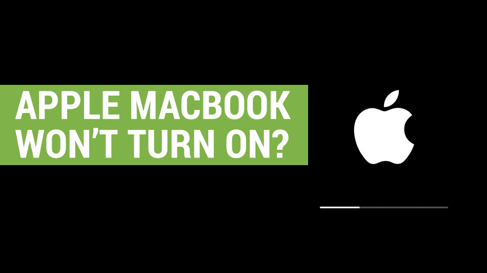 apple mac book wont turn on