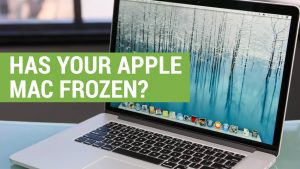 frozen apple mac screen problems