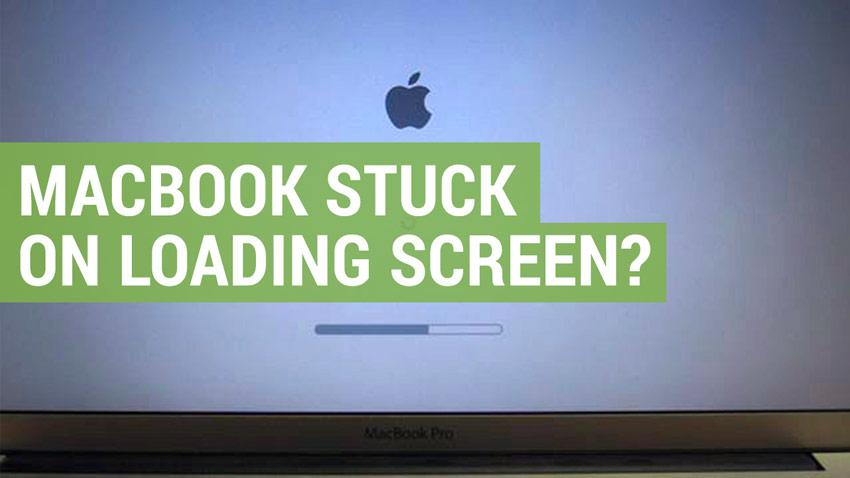 apple macbook stuck on loading screen