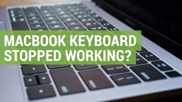 apple macbook keyboard stopped working