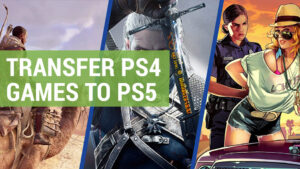 how to transfer ps4 games to ps5