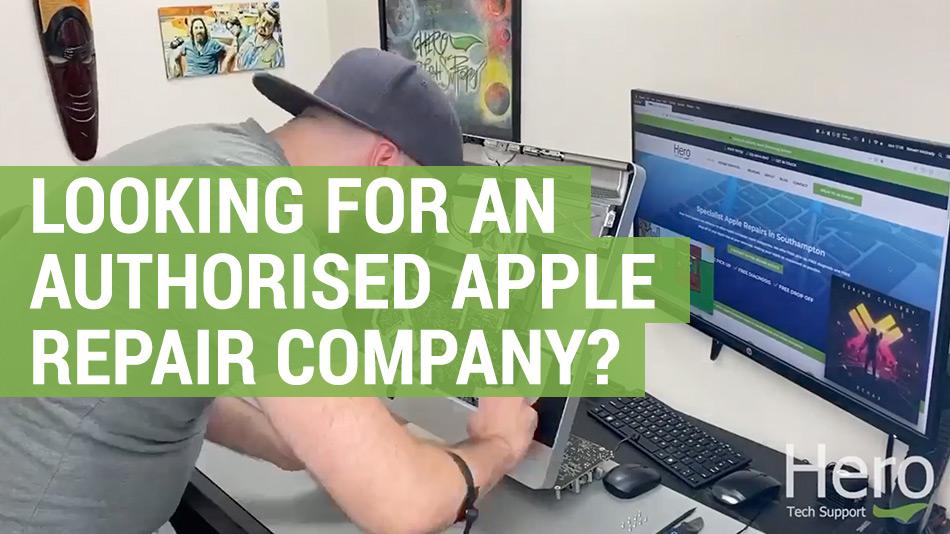 need an authorised apple repair company
